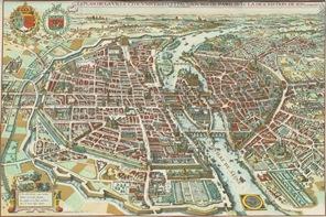 1615 Paris Plan de Mérian
