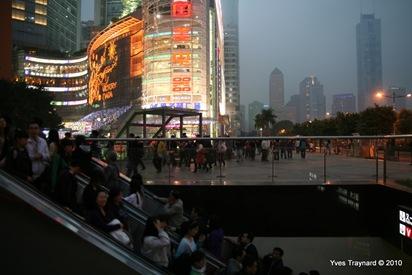 Canton : Quartier de Tianhe (c) Yves Traynard 2010