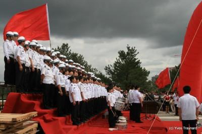 Datong, répétition fin juin 2011 (c) Yves Traynard 2011