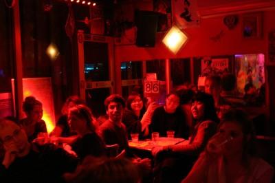 Slam de Poésie, café Culture rapide (c) Bruno Henon 2012