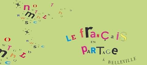 Visuel Le français en partage, oeuvre de Yannick Mendy