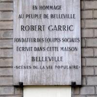 Nostalgie bellevilloise
