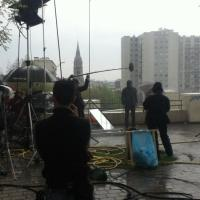 Shooting in the rain