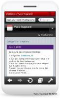 Le blog sur téléphone portable